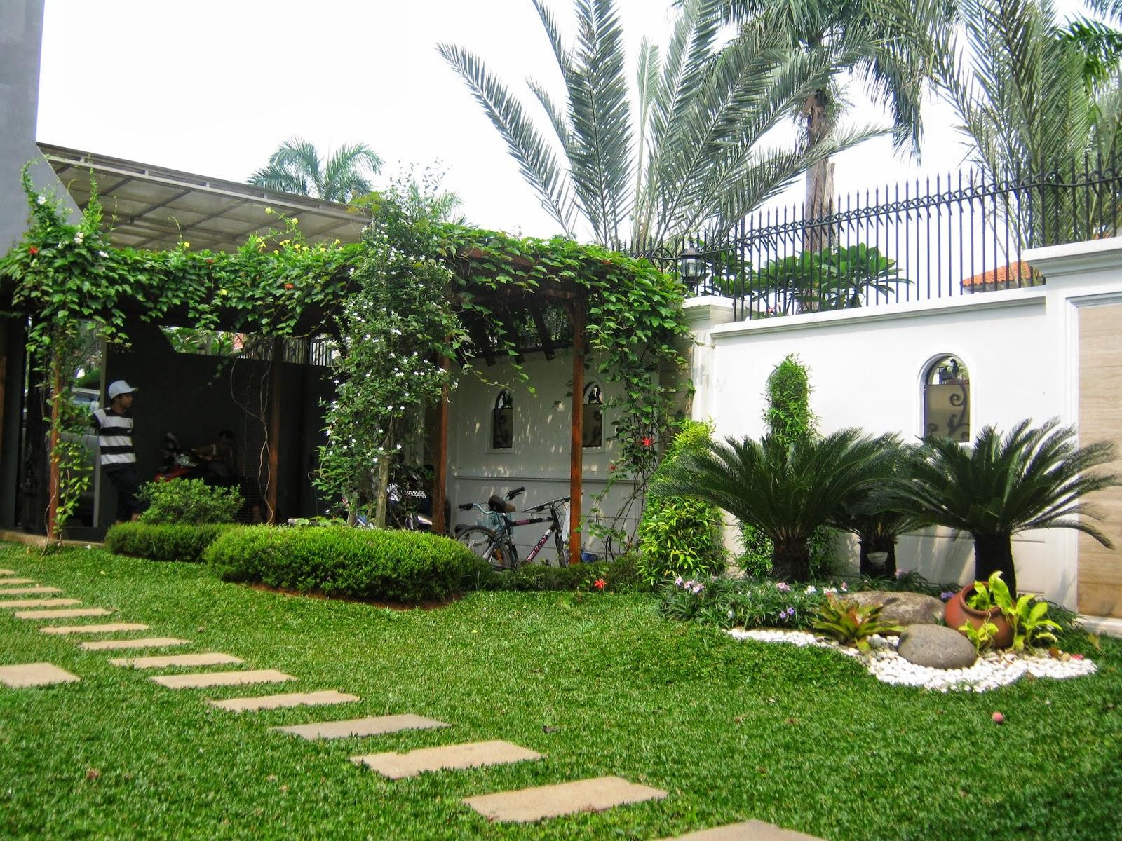 Rumah Minimalis Dengan Taman Luas