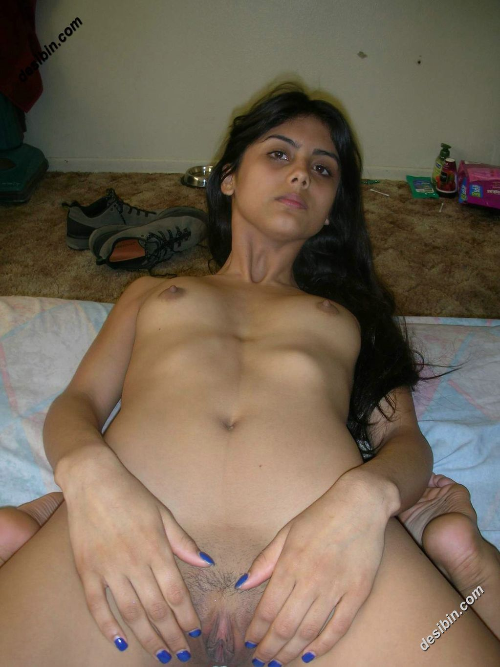 very hot desi  girl boob selfe