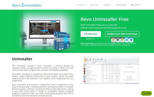 Reva Uninstaller Free