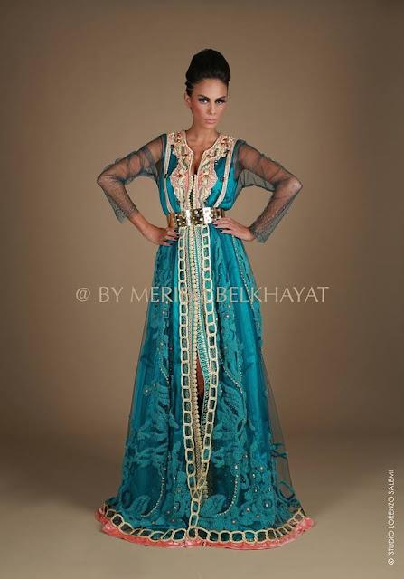 Caftan 2013 moderne - Takchita Marocaine de luxe - adayinlifetoo blog 9c5a30475493
