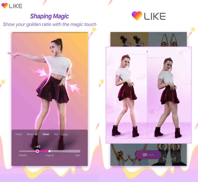 LIKE App pioneers augmented reality (AR) body Shaping feature– 'Shaping Magic'