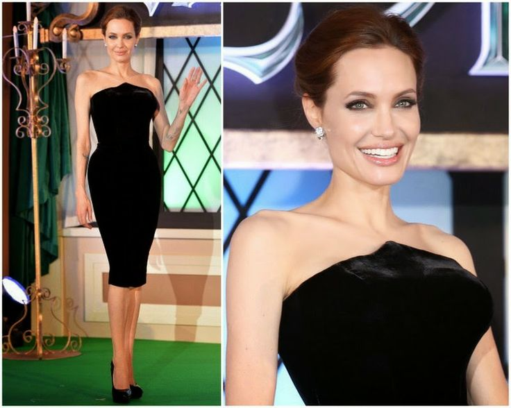 Maleficent' Japan Premiere -  Angelina Jolie in Atelier Versace