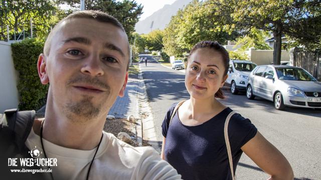 Arkadij und Katja aus Bremerhaven in Südafrika Kapstadt