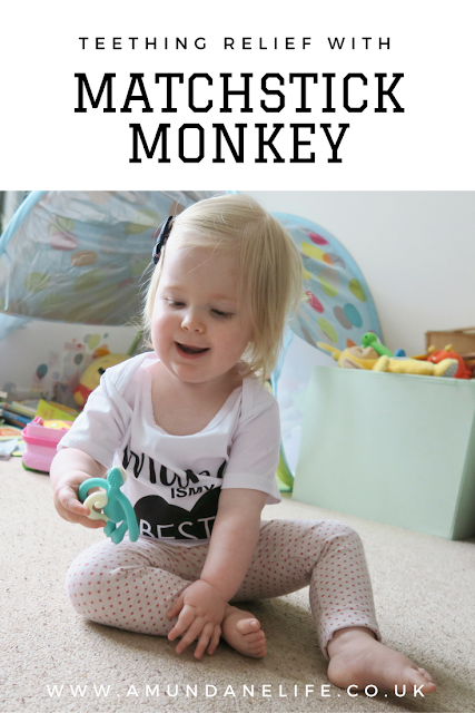 Sometimes your child needs some relief from teething. The matchstick monkey is perfect for helping your child with teething!