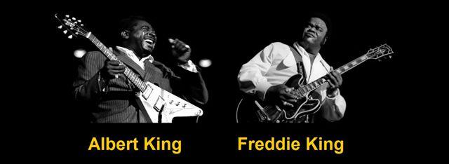 Los tres reyes del blues