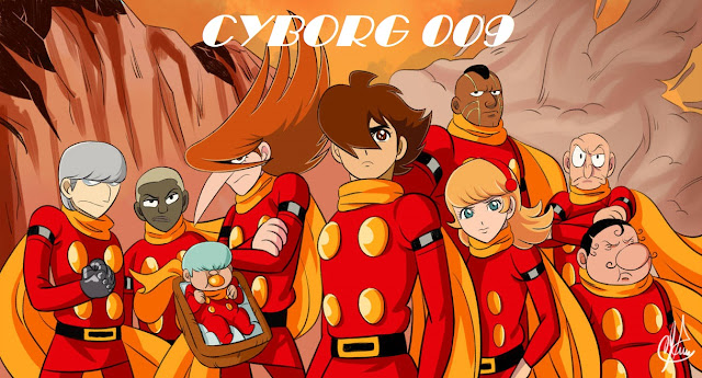 Anime em Foco: CYBORG 009 (1968)