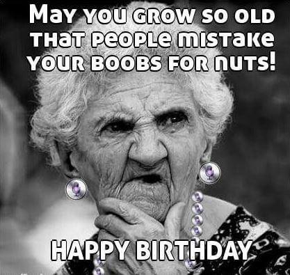rude Happy Birthday Meme