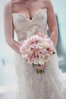 Bouquet redondo e pequeno
