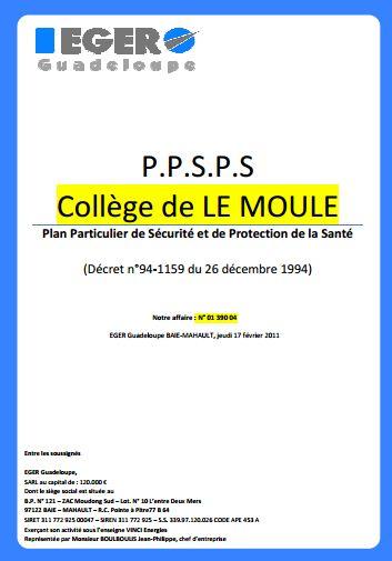 Modèle PPSPS électricité | Cours génie civil - Outils, livres, exercices et vidéos