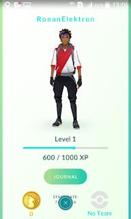 Ronan Di Pokemon Go