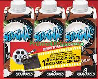Logo Sdrink Granarolo ti regala i biglietti cinema