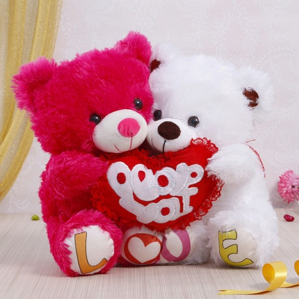 Romantic Teddy Bear Images for Lovers & Couples