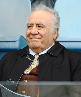 Franco Sensi was president of AS Roma for 15 years after rescuing the club from financial collapse