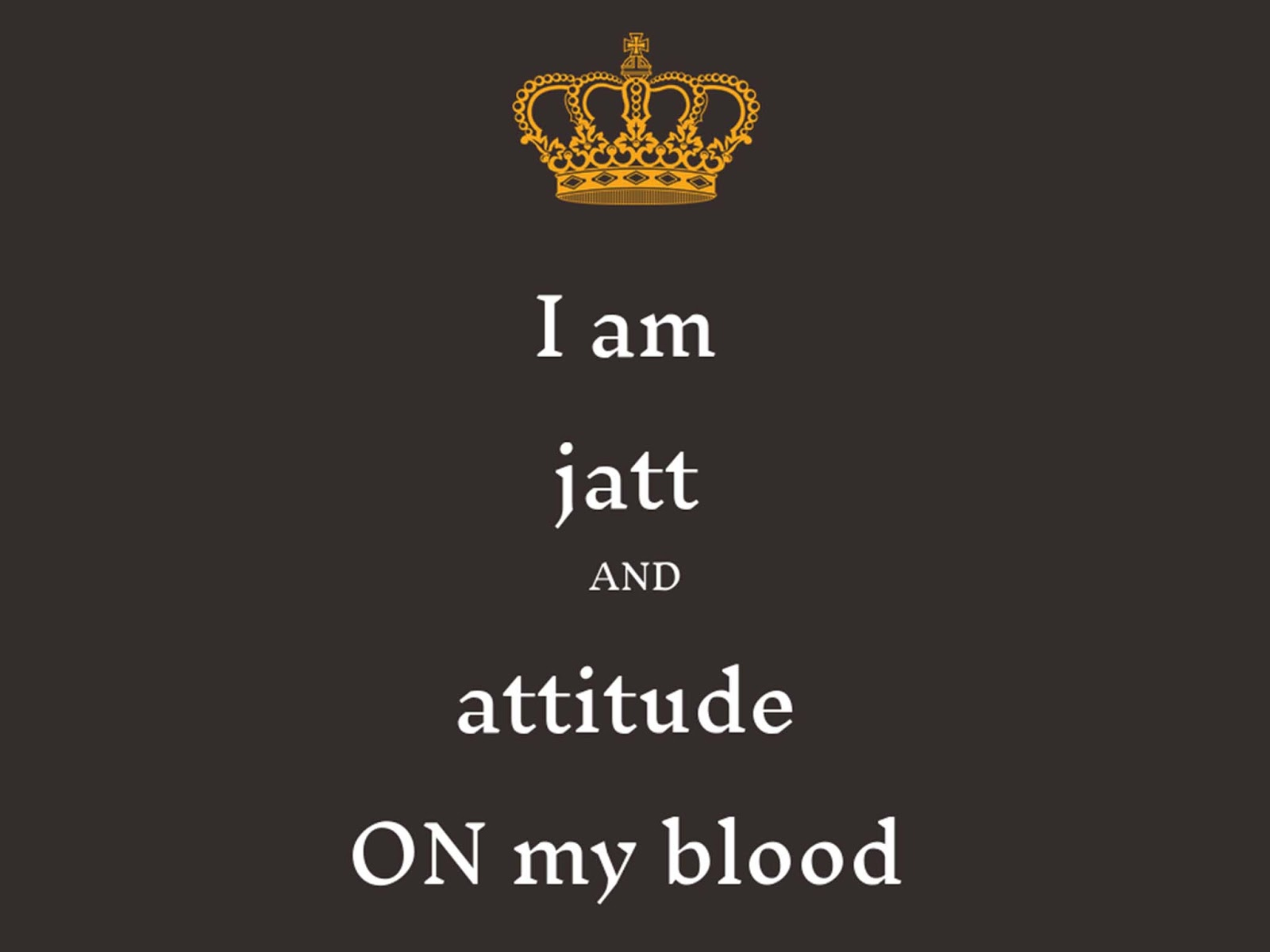 Whatsapp DP Attitude jatt