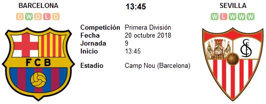Barcelona vs Sevilla en VIVO