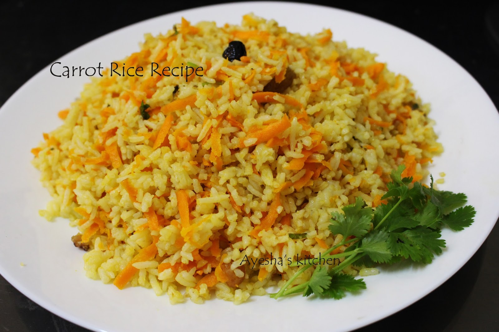 Indian food recipes indian recipes desi food desi recipes carrot rice how to make carrot rice quick lunch dinner ideas forumfinder Gallery