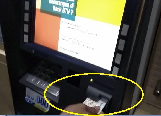 Masukan Kartu ATM Anda