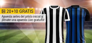 bwin promocion 10 euros Juventus vs Inter 9 diciembre