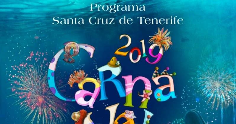 Francois Illas New Tradition: Secret Tenerife: Santa Cruz Carnival Program 2019