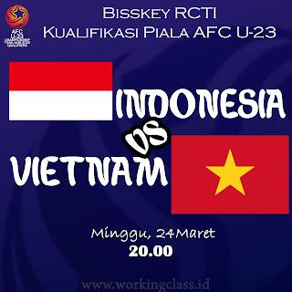 Bisskey RCTI Kualifikasi Piala AFC U23