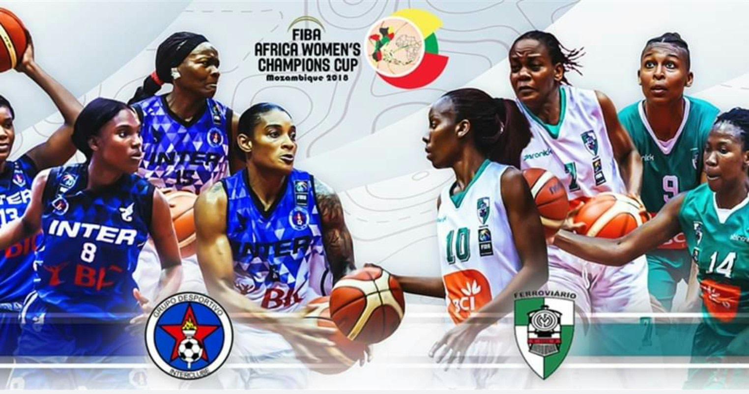 Clube Ferroviário de Maputo, InterClube no jogo de título da Copa dos Campeões  Femininos da FIBA Africa 2018 8f0b82546c