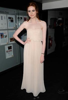 Karen Gillan Goes Nude At The Doctor Who Screening | Look