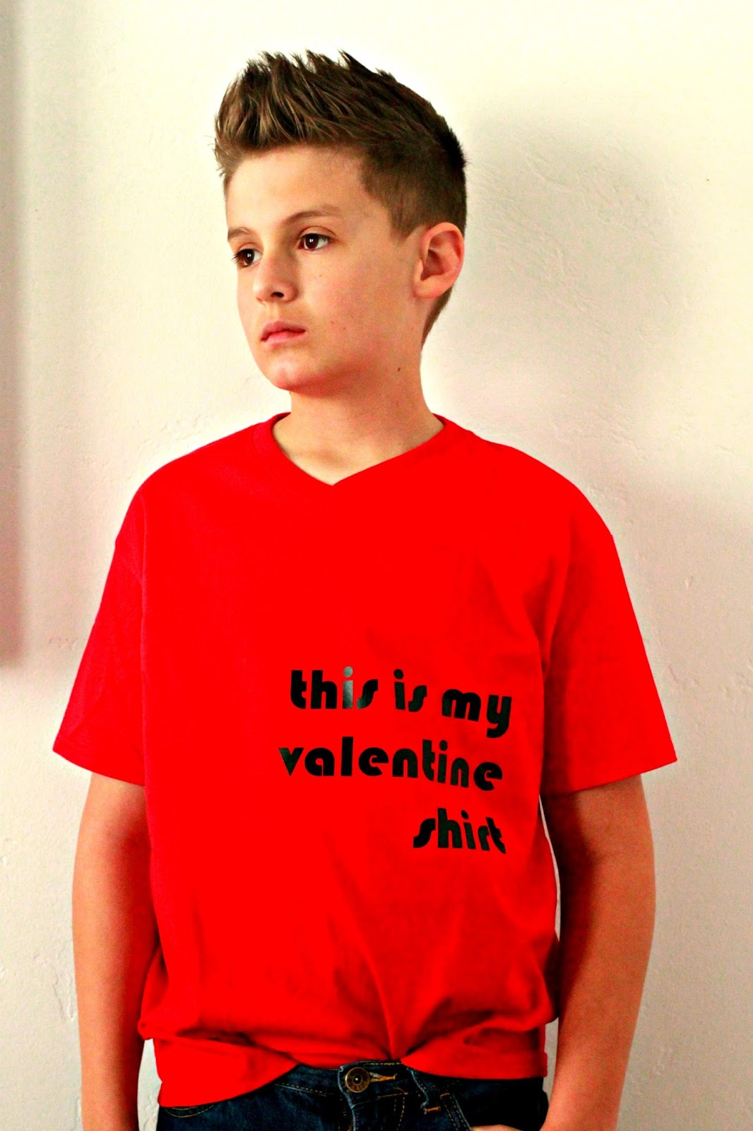 Valentines Day Kid Shirts