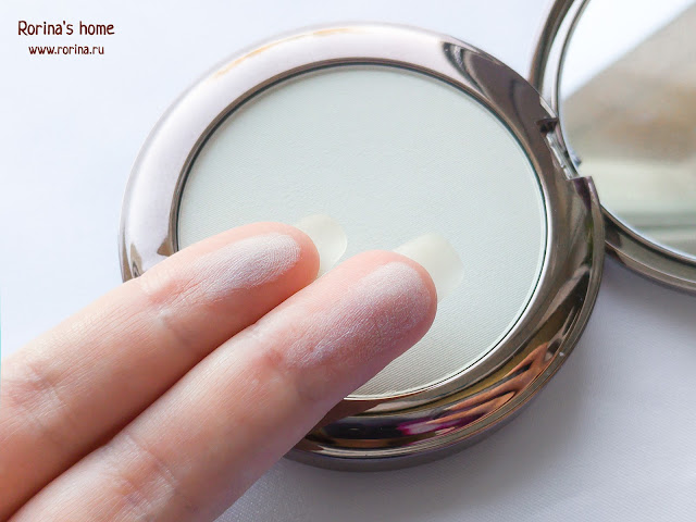 Свотчи матирующая пудра LIMONI Transparent matte powder