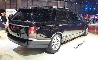 Klassen Range Rover Vogue Stretched Limousine
