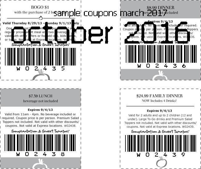 Sweet tomatoes coupons june 2018 printable