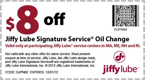 Jiffy Lube Coupons Ma >> Jiffy Lube New England Coupons For Jiffy Lube Oil Change