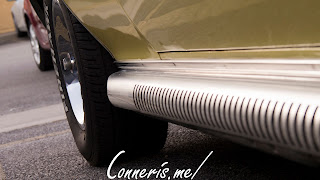 AMC Javelin Side Pipes Detail