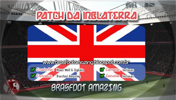 INGLATERRA BAIXAR DA BRASFOOT 2013 PATCH PARA