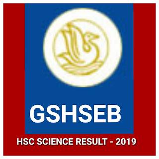 HSC SCIENCE RESULT - 2019