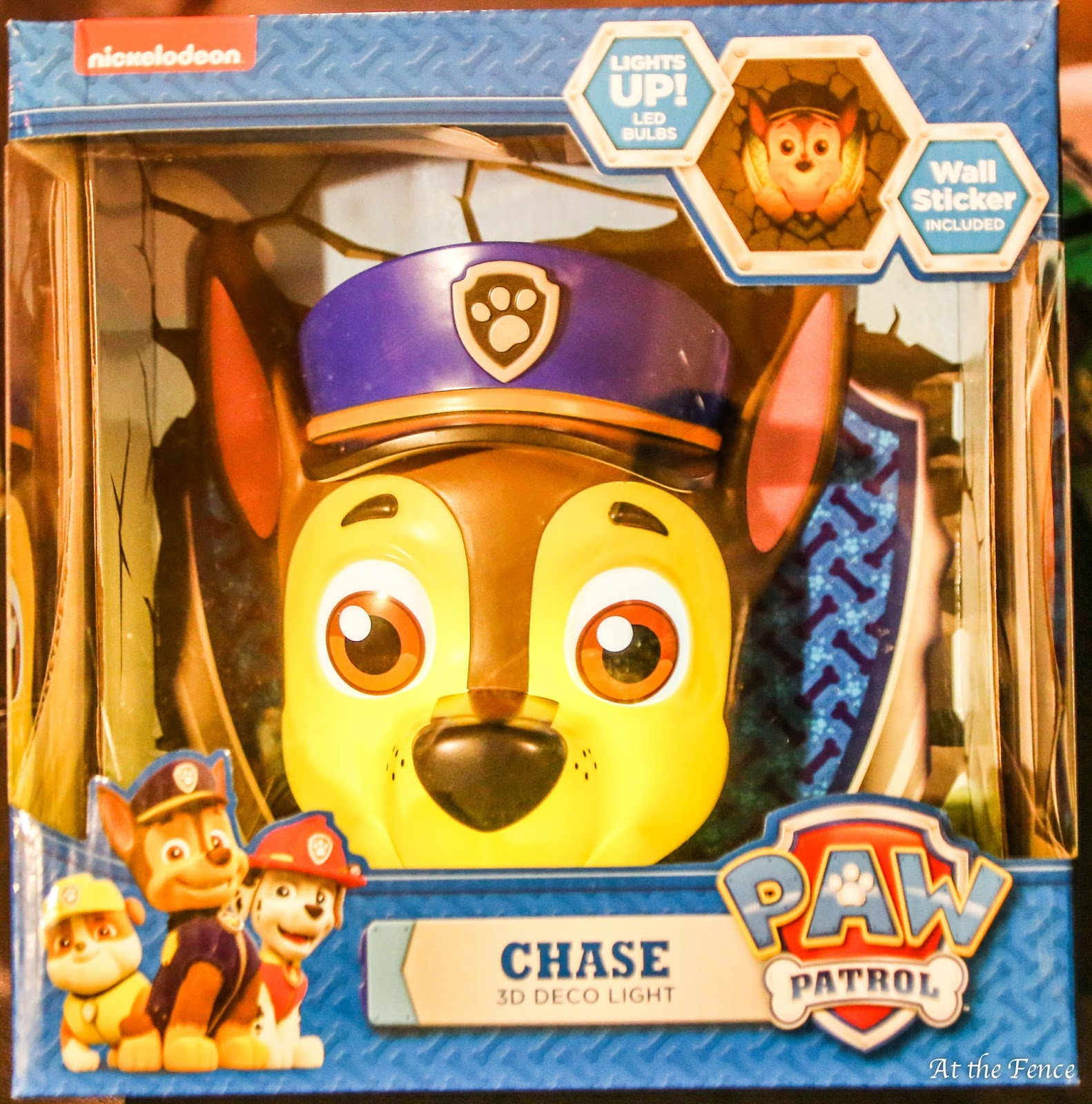 Bathroom Light Goes Off Itself at the fence: paw patrol 3d deco light #2016holidaygiftguide