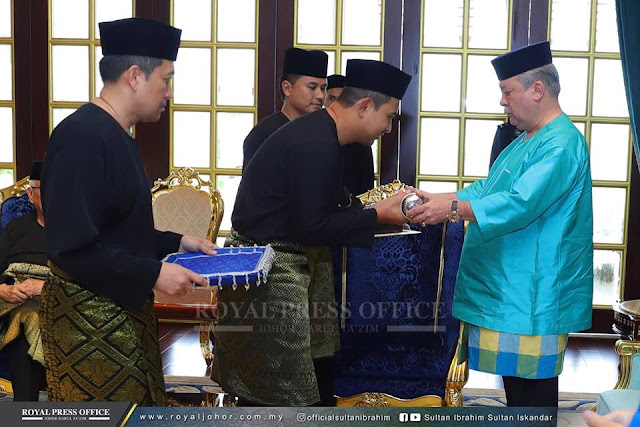Dr Sahruddin Jamal, Menteri Besar Johor