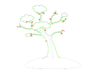 HOW TO DRAW A AutumnTrees