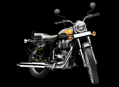 Royal Enfield 350 UCE front look