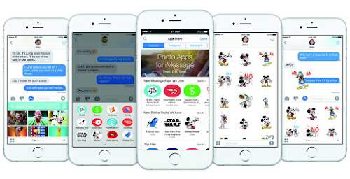 iOS 10 iMessage updates