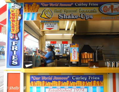 Curley Fries in Wildwood New Jersey