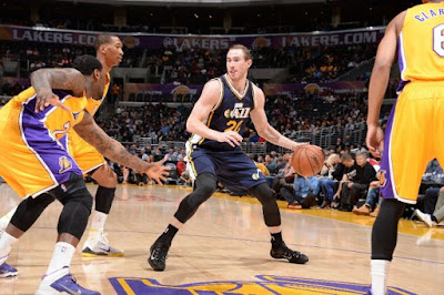 Los Angeles Lakers vs Utah Jazz