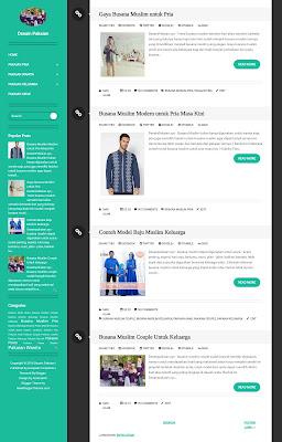 Dijual Blog Fashion Niche Desain Pakaian Murah