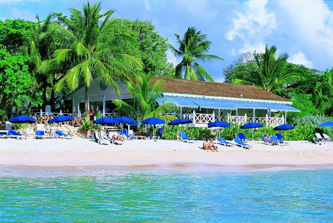 Beach Bar in Barbados