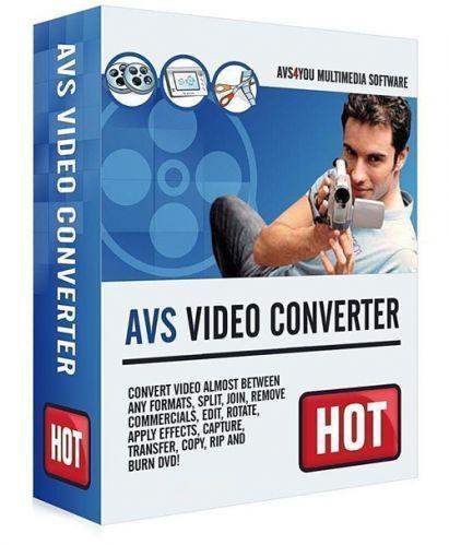 برنامج تحويل صيغ الفيديو | AVS Video Converter 11.0.3.639
