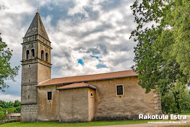 Crkva Svetog Roka Rakotule @ www.poistri.eu