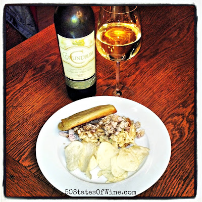 Turkey Leftover Wine Pairings: Po' Boys and Conundrum Wines White