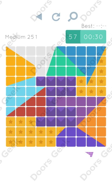 Cheats, Walkthrough for Blocks and Shapes Medium Level 251