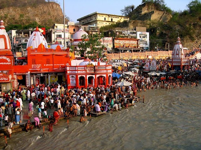 haridwar is the holy land for pilgrimage
