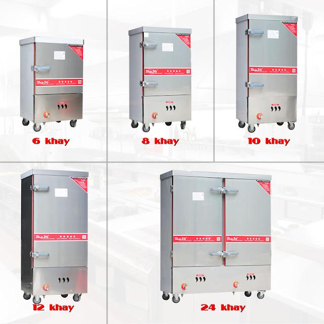Các loại tủ nấu cơm công nghiệp 2018 dùng gas