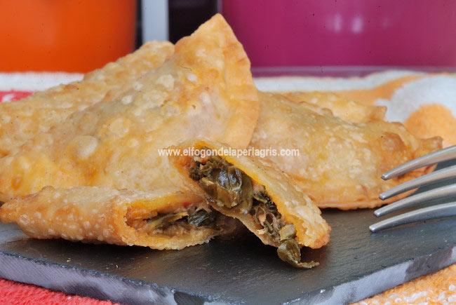 Empanadillas de kale y atún